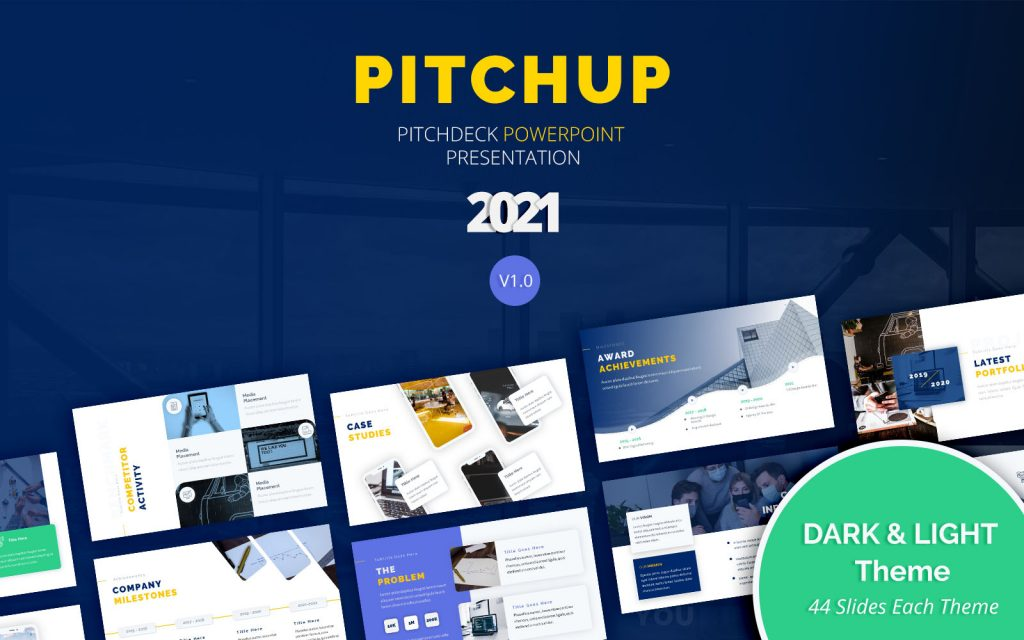 Pitchup – Pitch Deck Powerpoint Template